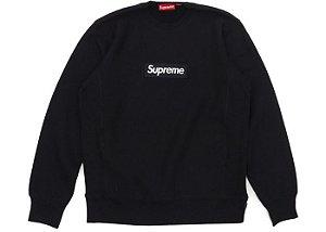 """SUPREME - Moletom Box Logo """"Black"""""""