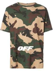 "OFF-WHITE - Camiseta OFF ""Camo"""