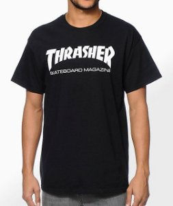"THRASHER - Camiseta Skate Mag ""Black"""