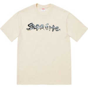 "SUPREME - Camiseta Liquid ""Bege"""