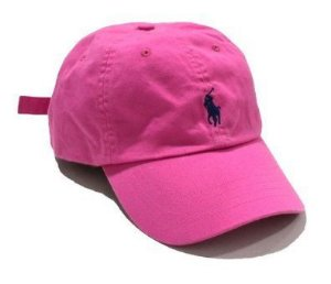 "Polo Ralph Lauren - Boné Baseball ""Bright Pink"""