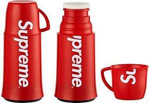 "Supreme x Helios - Garrafa Térmica Logo ""Red"""
