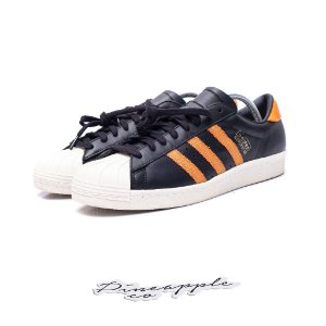 "ADIDAS - Superstar OG ""Black/Orange"" -NOVO-"