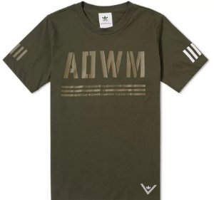 "adidas - Camiseta White Mountaineering ""Olive"""