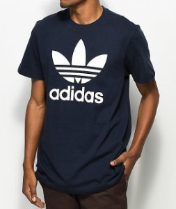 "adidas - Camiseta Trefoil ""Navy"""