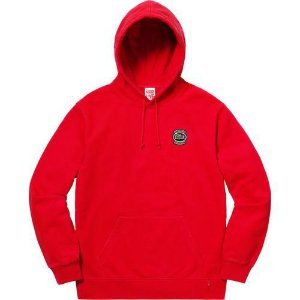 "Supreme x Lacoste - Moletom Logo ""Red"""