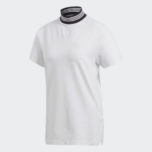 "adidas - Camiseta Neckband Stripe""White"""