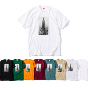 ENCOMENDA - Supreme x Mike Kelley - Camiseta The Empire State Building