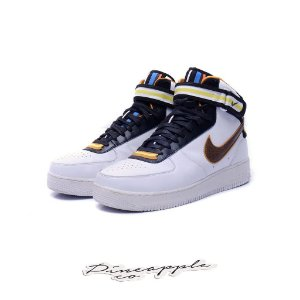 "NIKE x RICCARDO TISCI - Air Force 1 Mid ""White"" -USADO-"
