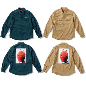 ENCOMENDA - Supreme x Mike Kelley - Camisa Work Ahh Youth