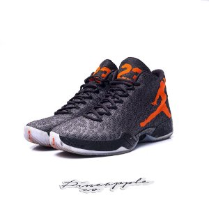 "Nike Air Jordan 29 ""Black/Team Orange"""