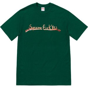 "SUPREME - Camiseta Fuck You ""Green"""