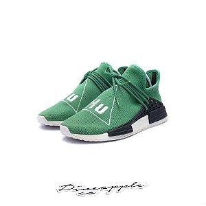 "ADIDAS x PHARRELL - NMD Hu ""Green"" -USADO-"