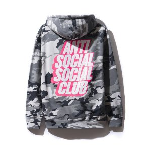"ANTI SOCIAL SOCIAL CLUB - Moletom Blocked Siberia ""Camo"""