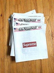 Supreme x The New York Post - Jornal