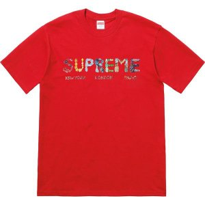 "SUPREME - Camiseta Rocks ""Red"""