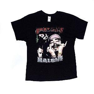 "POST MALONE - Camiseta ""Black"""