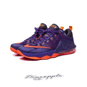 "Nike LeBron 12 Low ""Court Purple"""
