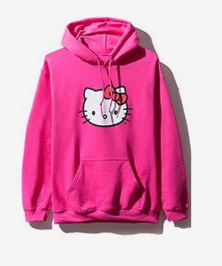 "Anti Social Social Club - Moletom Hello Kitty ""Pink"""