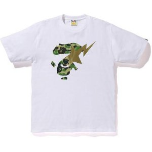 "BAPE - Camiseta ABC Ape Face On Bapesta ""White"""