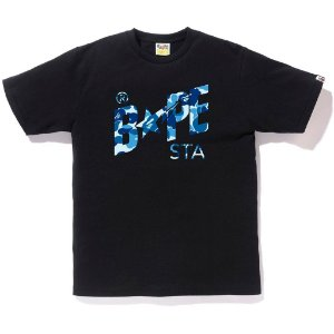 "BAPE - Camiseta ABC Bapestar ""Black"""