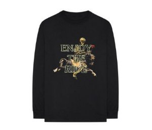 "Travis Scott - Camiseta Enjoy The Ride ""Black"""