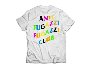 "YEEZY BUSTA - Camiseta Anti Fugazzi Club ""White/Multicolor"""