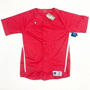 "CHAMPION - Camisa Jersey Baseball ""Red"""
