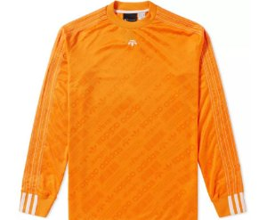 "adidas x Alexander Wang - Camiseta Soccer ""Orange"""