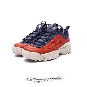 """Fila Disruptor 2 x Pierre Cardin """"Orange/Blue"""""""