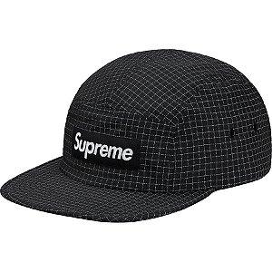 "SUPREME - Boné Reflective Ripstop Camp ""Black"""
