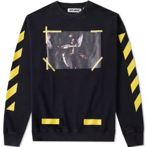 "OFF-WHITE - Moletom Caravaggio  7 OPERE ""Black"""
