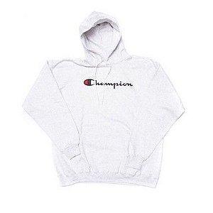 """CHAMPION - Moletom Script Logo """"Light Grey"""""""