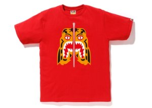 "BAPE - Camiseta Tiger ""Red"""