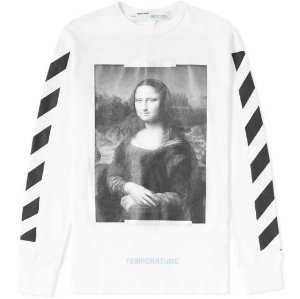 "OFF-WHITE - Camiseta Mona Lisa ""White"""