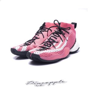 """adidas Crazy BYW LVL x Pharrell Ambition Pack """"Pink"""""""