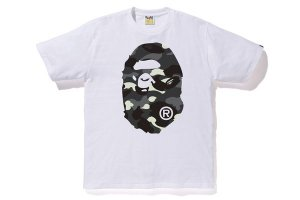 "BAPE - City Camo Big Ape Head ""White"""