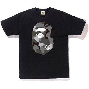 "BAPE - Camiseta Splinter Camo Big Ape Head ""Black"""