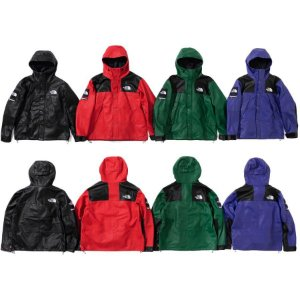 ENCOMENDA - Supreme x The North Face - Jaqueta Leather Mountain Parka