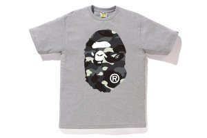"BAPE - Camiseta City Camo Big Ape Head ""Grey"""