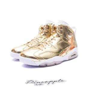 "Nike Air Jordan 6 Retro Pinnacle ""Metallic Gold"""