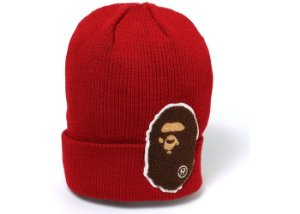 "BAPE - Touca Big Ape Head ""Burgundy"""
