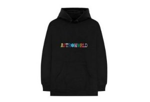 "Travis Scott - Moletom Astroworld ""Black"""