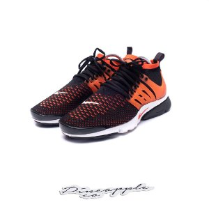 "Nike Air Presto Ultra Flyknit ""Black/Red"""
