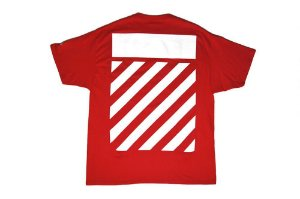 "Off-White x Champion - Camiseta Wisconsin ""Red"""