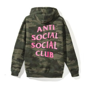 "ANTI SOCIAL SOCIAL CLUB - Moletom Break Me Camo ""Green"""