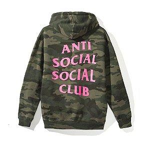 "ANTI SOCIAL SOCIAL CLUB - Moletom Break Me Camo ""Green"""
