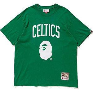 "Bape x Mitchell & Ness - Camiseta Celtics ""Green"""
