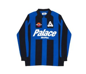 "PALACE - Camiseta Palazzo Knit ""Blue/Black"""