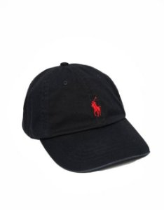 "Polo Ralph Lauren - Boné Baseball ""Black"""
